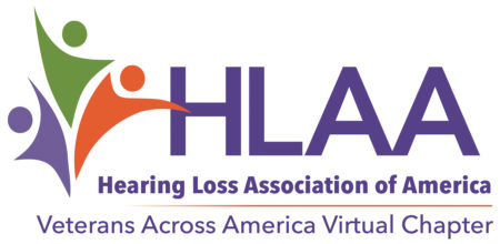 HLAA Veterans Across America Virtual Chapter logo